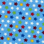 Rainbow Stars Hellblau