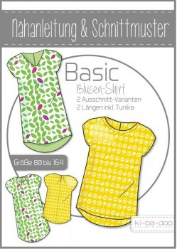 Basic Blusen-Shirt Kinder