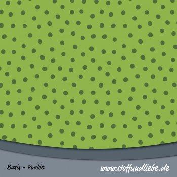 BASIX MINI DOTTIES Grün