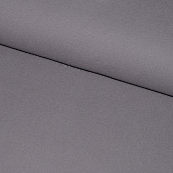 BIO-Baumwollfleece Grau