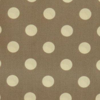 BIO Beschichtete Baumwolle: DOTS Cinder