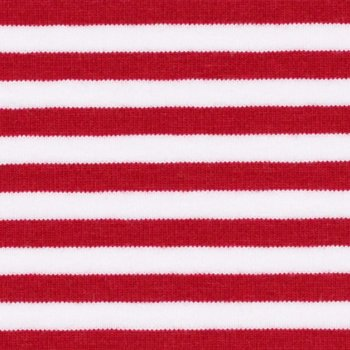 BIO Jersey Danish Stripes Rot-Weiß