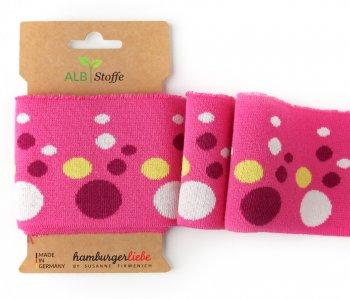 Bio-Bündchen CUFF ME Icon Bubbles pink