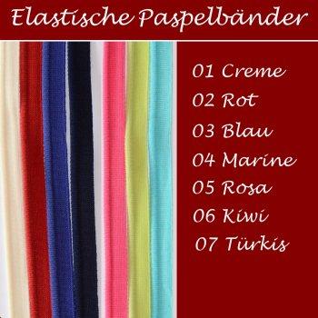 Elastische Paspelbänder