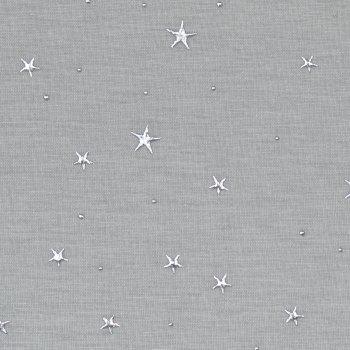 """Viskosejersey """"SPARKLING STARS"""" Grau"""