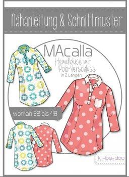Damen Hemdbluse MAcalla