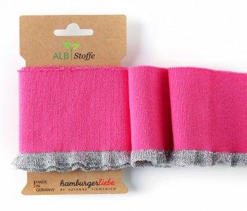 Bio-Rüschen-Bündchen CUFF ME Frill Pink