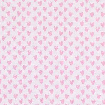 Hilco MONO HEARTS Weiß