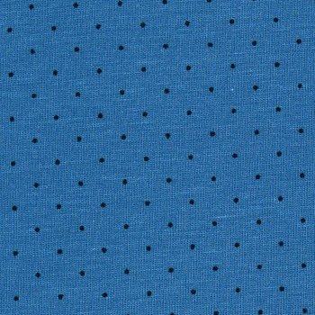MICRO DOTS Schwarz auf Blau