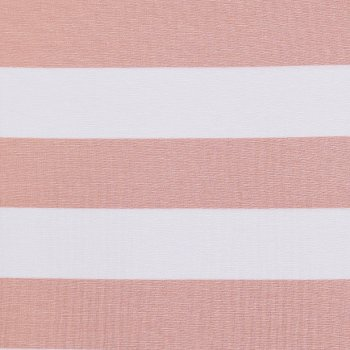 """VISCO STRIPES 6"" Rosapastell-Weiß"