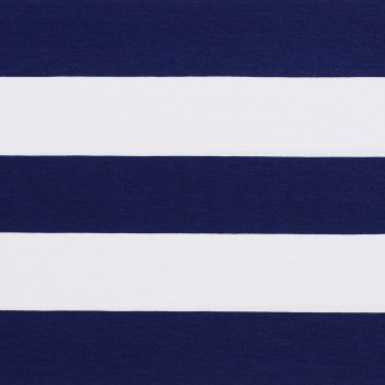 """VISCO STRIPES 6"" Marine-Weiß"