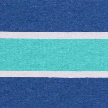 "Jersey ""LILLY BLOX""  Blau/Türkis"