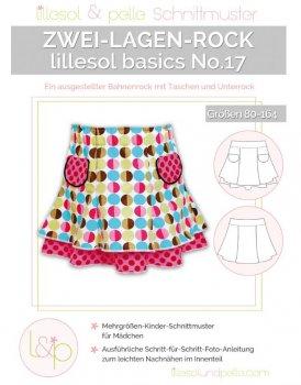 Lillesol No. 17 Zwei-Lagen-Rock Kinder