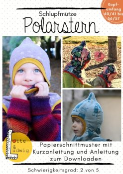 Papierschnittmuster POLARSTERN by Lotte & Ludwig