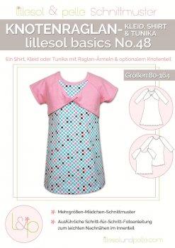 Lillesol No. 48 Knotenraglan-Kleid