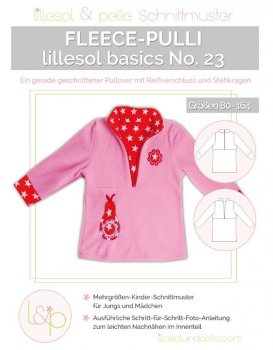 Lillesol No. 23 Fleece-Pulli