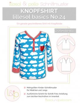 Lillesol No. 24 Knopfshirt
