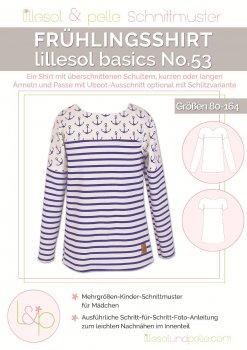Lillesol No. 53 Frühlingsshirt Kind