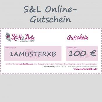 Online Shop-Gutschein 100 €