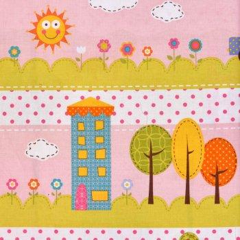 HAPPI Playground Quilt Rosa