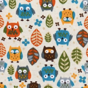 Mini Critters: Owls in Woods