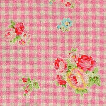 Floral Vichy Sugar Rosa