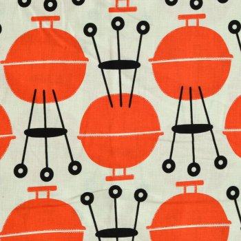Grillmaster Orange / Weiß