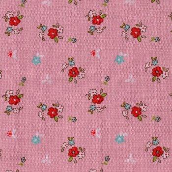 Riley´s Rotkäppchen Blumen Altrosa