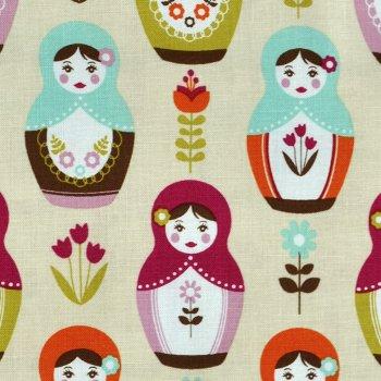 Little Matryoshka Puppets