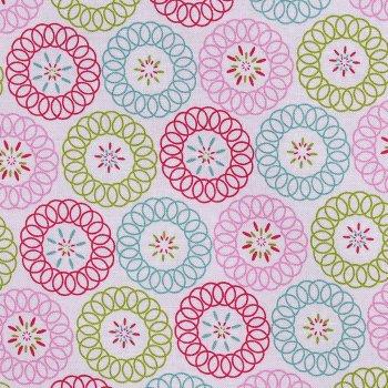 Tante Ema´s Spiralkreise Weiß