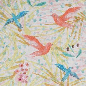 BIRD PARADIES Batist Oliv