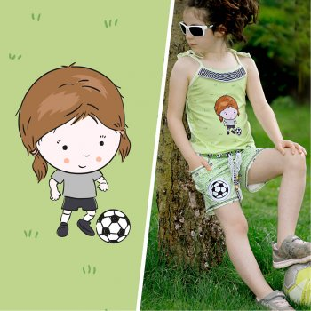 Lil Sweeties - Fußball Kids GIRL