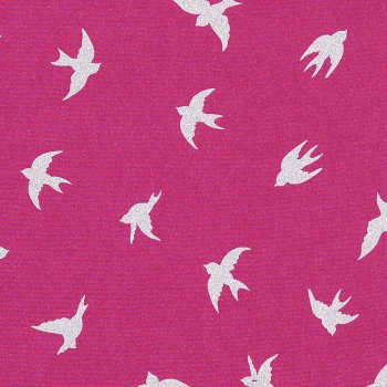Soft Shell MAGIC REFLEC Bird Pink