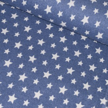 Bio-Baumwollfleece STARS Jeans