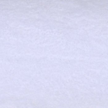 Baumwoll-Fleece Schneeweiß