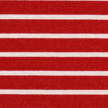 VISKOSE SWEAT Zartcreme auf Rot