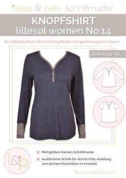 Lillesol No. 14 Knopfshirt