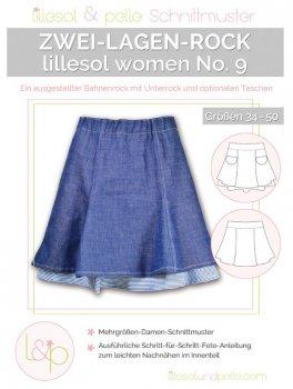 Lillesol No. 9 Woman  Zwei-Lagen-Rock