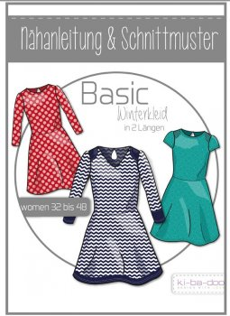 Basic Winterkleid Damen