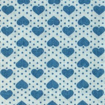 My Darling Blau auf Weiß
