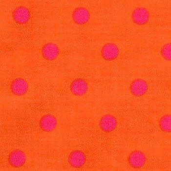 Party Dots Pink auf Orange