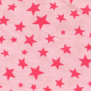 Stars no Stripes COTTON Pink auf Rosa