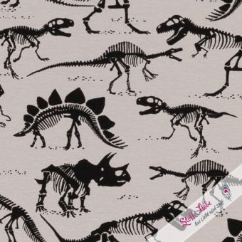 Jersey Vera - Dinoskelette - GRAU