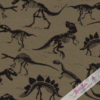 Jersey Vera - Dinoskelette - KHAKI