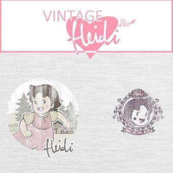 HEIDI Vintage - PANEL Grau