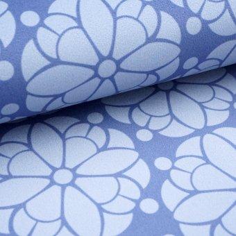"""Taschenstoff """"Pretty"""" -blue -  by Cherry Picking"""