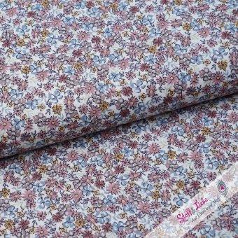 Baumwoll Batist - Petites fleurs