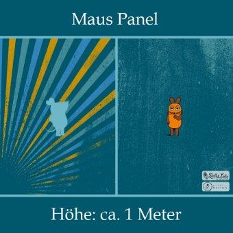 DIE MAUS - Panel Shabby Petrol 1m