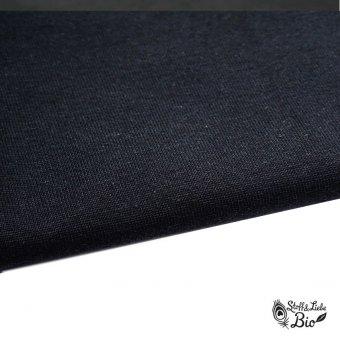 50 cm PAMUK Bündchen Midnight - Bio