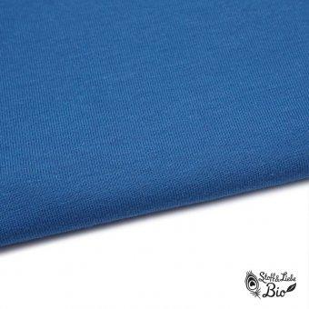 50 cm PAMUK Bündchen Polizei Blau - Bio